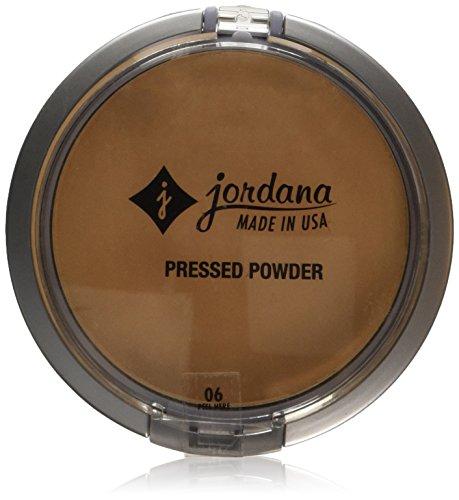 JORDANA Perfect Pressed Powder - Honey