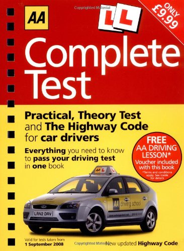 Complete Test (AA Driving Test Series) (AA Driving Test Series)