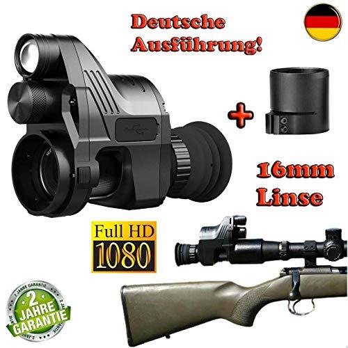 Maximtac Nachtsichtgerät Pard NV007 German-Edition BRD mit 16mm Linse + 2 Akku + BKA-Bescheid + Ladegerät