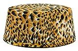 Hut zum Kostüm Dschungel König - Leopardenmuster - Tolle Kopfbedeckung im Kosaken Stil für Fasching und Afrika Mottoparty