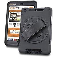 Armourdog® - Custodia con manico e schermo in vetro temperato per Apple iPad Mini 1/2/3