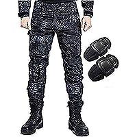 H Welt EU - Pantalones militares del ejército táctico, para airsoft o paintball, pantalones de lucha para hombre con rodilleras, color TYP, tamaño extra-large
