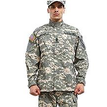 Noga camuflaje Suit Combat BDU–Uniforme militar Uniforme BDU–Traje de caza Plan parte Paintball Coat + Pants
