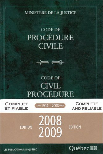 code de procedure civile edition 2008 2009