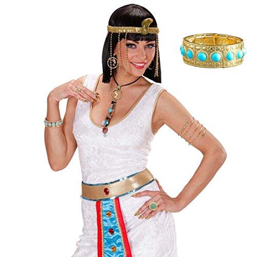 Cleopatra Armband Ägyptischer Armreif Ägypten Armreifen Göttin Armkette -
