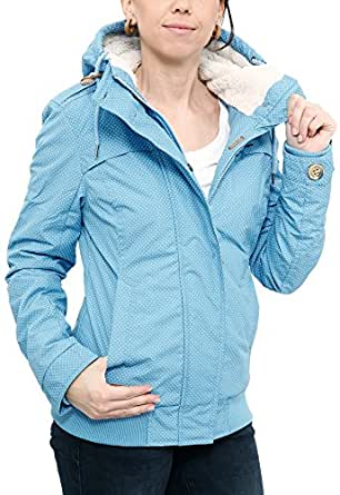 Ragwear Ewok Minidots Jacket Light Blue XS