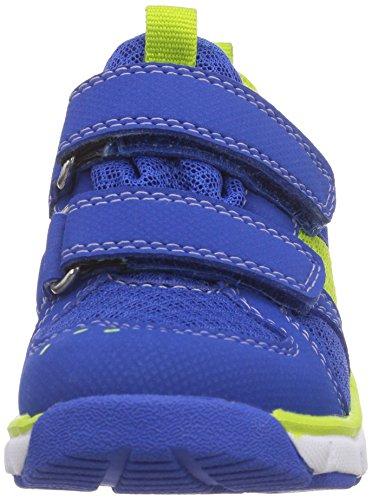 Superfit  LUMIS MINI, {Chaussures premiers pas pour bébé (garçon) Bleu - Blau (BLUET KOMBI 85)