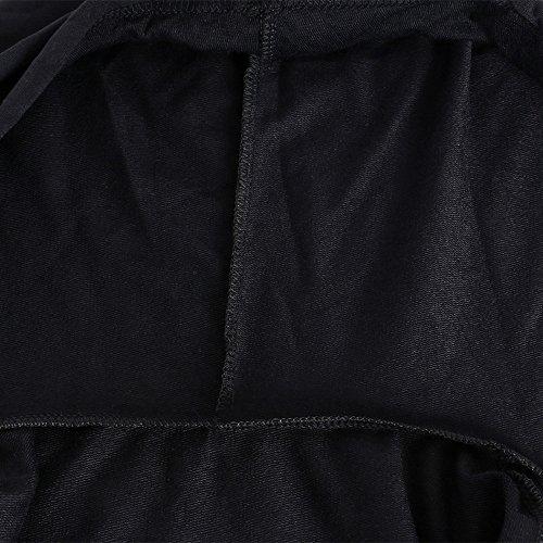 DolCasa Hoodie da Donna, Felpa Con Cappuccio Autunno Inverno Pullover Hoodie Sport Palestra Nero