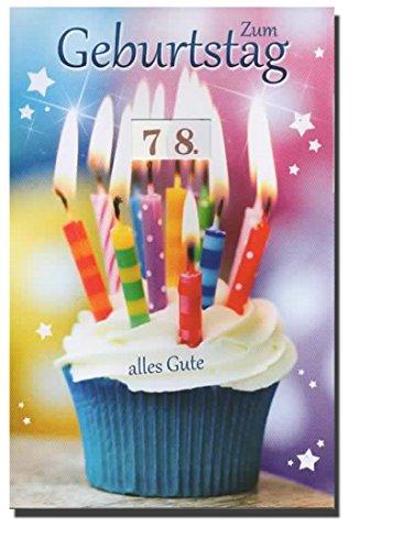 Geburtstagskarte Glückwunschkarte mit Drehrad einstellbar vom 10. bis zum 109. Geburtstag - 522777