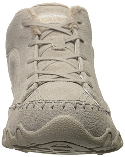 Skechers Bikers Totem Pole, Sneakers basses femme Taupe