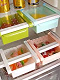 #5: McClub Mulitpurpuse Sliding Organizer Rack For Refrigerator / Fridge/ Table (Fridge Rack, Vegitable Storage)- Assorted Color(Pack Of 2)