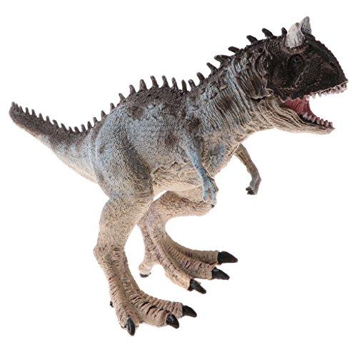 Homyl Juguete de Dinosaurio Figura Prehistórica Realista Juego de Aprendizaje Regalo de Fiesta Cumpleaños para Niños - carnotaurus
