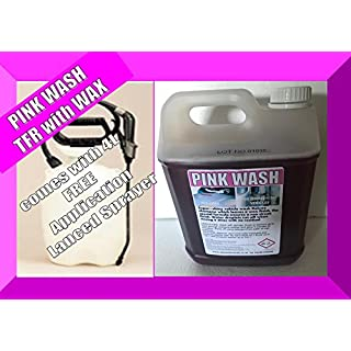 TFR with Wax x5L Superior Professional Valeting Chemical, High Dilution 'PINK WASH'