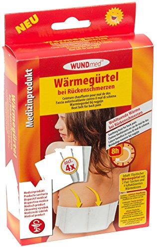 Wärmegürtel/Rückengurt für Wärmekissen inkl, 4 Wärmekissen