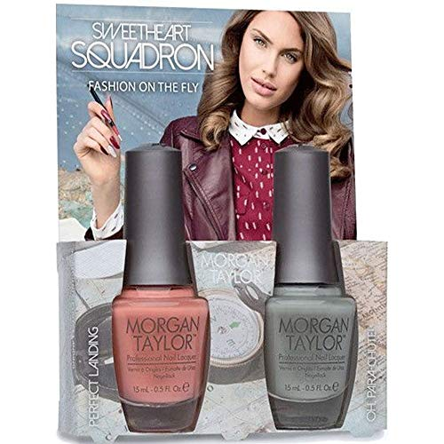 Sweetheart Squadron Collection - Fashion On The Fly - A Duo Nail Polish Pack (2 x 15ml) (51308)