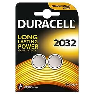 DURACELL Blister de 2 piles 2032 lithium