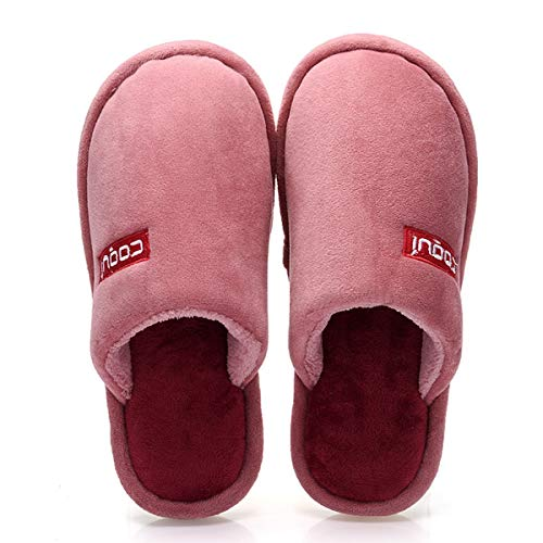 Lianaio pantofole classica borsa comoda imbottita impermeabile calda con pantofole in cotone. borsa calda imbottita confortevole comfort classico con pantofole in cotone adatta per 35/36