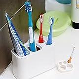 Die besten Halter Ikea Zahnbürste - B&Y Zahnbürste und Zahnpasta-Halter-abnehmbares Bewertungen