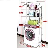 Lavadora de acero inoxidable/Estantes de baño/ inodoro y estante/Estantes de baño/Estantes del almacenaje del balcón del-A