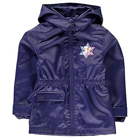 Frozen Wachs Jacke Infant Girls lila Mantel Oberbekleidung, violett, 9-10