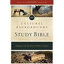 Cultural Backgrounds Study Bible: New International Version, Bringing to Life the Ancient World of Scripture,  Red Letter Edition