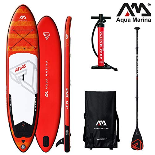 Aqua Marina Atlas Monster 2019 SUP Board Inflatable Stand Up Paddle Surfboard Paddel