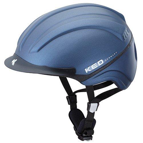 Casco da equitazione KED Kanauro S Night blue opaco 48-54 centimetri - 16554200S
