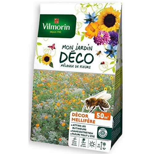 Vilmorin Sachet graines Mélange de Fleurs mellifères 50m2