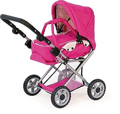 Bayer Design 13929 - Kombi - Puppenwagen Hot Pink