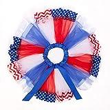 TENDYCOCO 4th of July American Flag Tutu Skirt Little Girl Tutu Skirt Girls