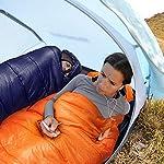 Bessport Mummy Sleeping Bag -10 Degree Celsius - 4 Season Backpacking Sleeping Bag for Adults & Kids – Lightweight Warm… 14