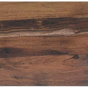 Venilia EICHE RUSTIKAL, 45 cm x 3 m, Klebefolie Dekofolie Möbelfolie Tapeten selbstklebende Folie, PVC, Natur-Holzoptik braun, 45cm x 3m, Stärke: 0,095 mm, 53155, 45 x 300 cm