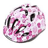 Kinder-Fahrradhelm für Jungen Größe S, rosa / weiß