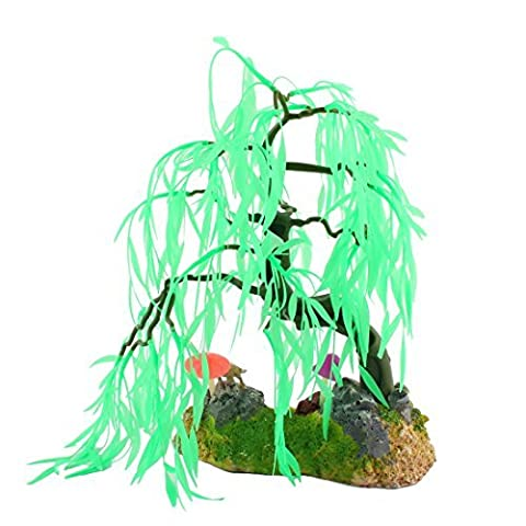 DealMux Fish Tank Künstliche Emulation Aquatic Dekoration Aquarium Pflanze Baum