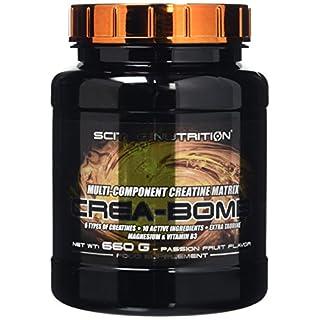 Scitec Nutrition Crea-Bomb Multi-Component Creatine Matrix Powder - 660g, Passion Fruit