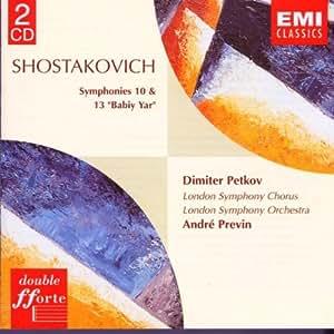 Symphonies 10 & 13 [Import allemand]