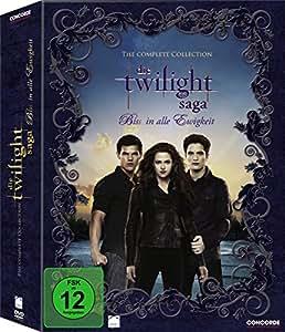 die twilight saga biss in alle ewigkeit the complete collection digipack 11 dvds. Black Bedroom Furniture Sets. Home Design Ideas
