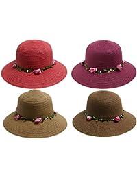 Sombrero de paja Cowboy Panama sombrero fedora sombrero sombrero verano sombrero bogarthut