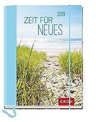 Zeit für Neues 2019: Terminplaner mit Wochenkalendarium | Maße (BxH): 12x15,5cm