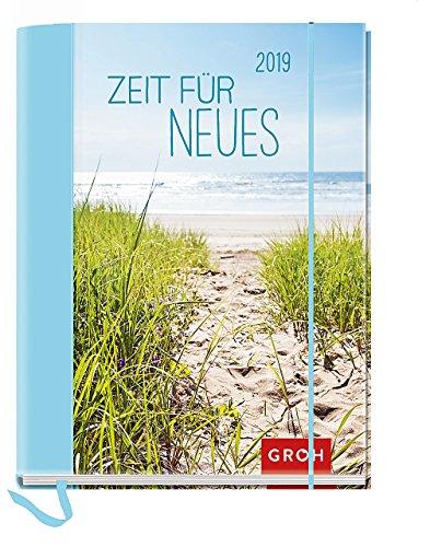 Zeit für Neues 2019: Terminplaner mit Wochenkalendarium | Maße (BxH): 12x15,5cm (Mutter Natur Kalender)