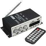 ELEGIANT Mini Auto HiFi Stereo Audio Power Amplifier Verstärker Super Bass Roller Booster Radio MP3 Verstärker Endstufen USB SD DVD CD FM MP3 mit Fernbedienung