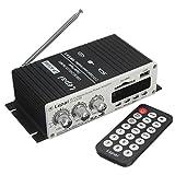 ELEGIANT Mini Auto HiFi Stereo Audio Power Amplifier Verstärker Super Bass Roller Booster Radio MP3 Verstärker Endstufen USB SD DVD