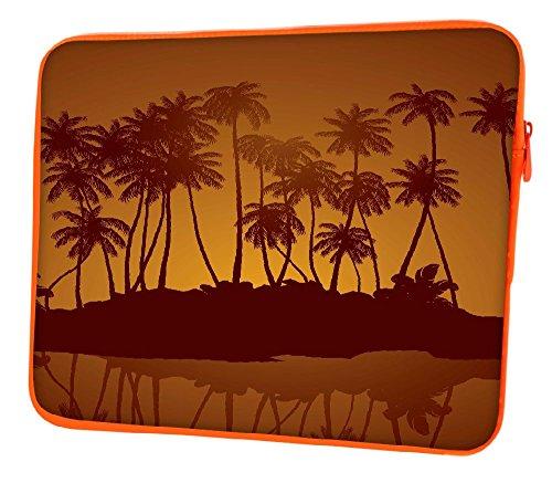Snoogg Notte Tropicale Vettore Sfondo 12