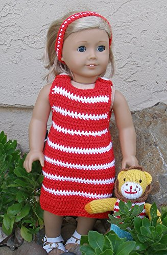 Crochet Jumper: Doll Crochet pattern (English Edition) (American Girl Doll Jumper)