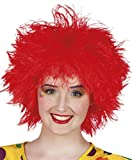 Boland - Pe402/Rouge - Perruque Clown Frizzy Rouge Femme