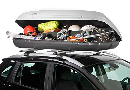 Hapro Roady 450 Roof Box / 420 Litres / Silver Grey