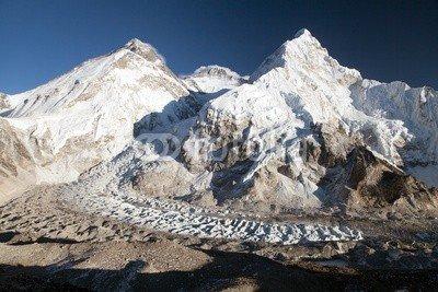 "Poster-Bild 120 x 80 cm: ""Beautiful view of mount Everest, Lhotse and Nuptse"", Bild auf Poster"
