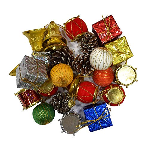 Toyshine 84 Pcs Christmas Tree Decoration, Docor, Tree Decoration Material