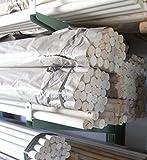 20 Stangen Weichholz Rundstab Holzstab Durchmesser 10 mm Länge 1000 mm natur ohne Lackierung