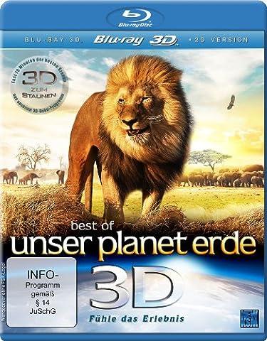 Best of Unser Planet Erde 3D - Fühle das Erlebnis [3D Blu-ray] (Beste 3d Blue Ray Filme)